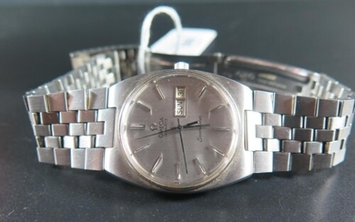 An Omega Gent's Seamaster Quartz Wristwatch in stainless ste...