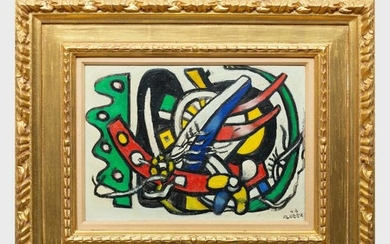 Attributed to Fernand Leger (1881-1955): Composition