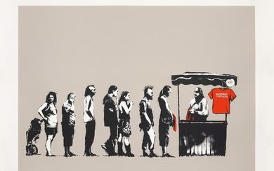 Banksy, Festival (Destroy Capitalism), from Barely Legal