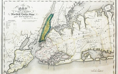 Burr Map of the counties of New York