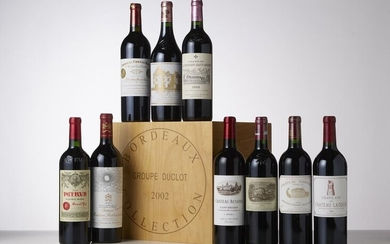 CASE COLLECTION DUCLOT OF 9 BOTTLES including :...