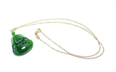 Carving - Natural Jade - Certified - China - 21st century