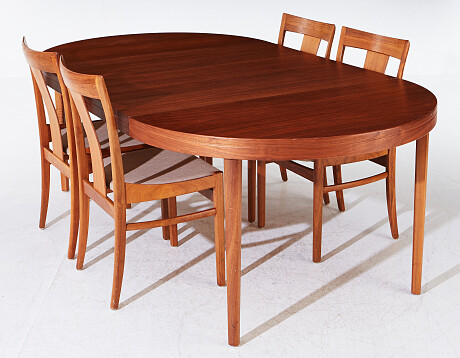 Chairs table 20th century Stolar bord 1900-tal
