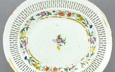 Chinese Export Reticulated Porcelain Platter