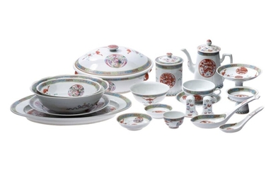 Chinese tea, coffee and dinner service | Chinesisches Tee- Kaffee- und Tafelservice