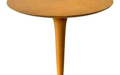 Coffee table, Italian production. Light wood structure