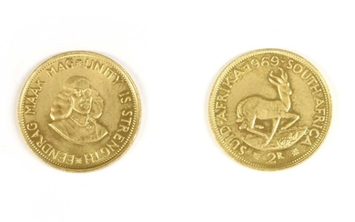 Coins, South Africa