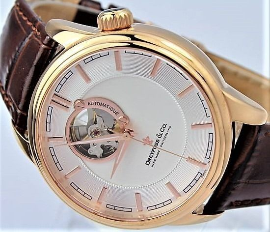 Dreyfuss & Co. - ' NO RESERVE PRICE' Automatic Swiss Hand Made - DGS00163/02 - Men - 2011-present