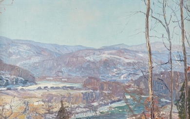 Edward Willis Redfield (American, 1869–1965) Blue Ridge Mountain, Shawnee,...