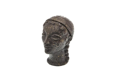 French Bronze Bust Box