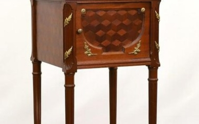 French Parquetry and Ormolu Mounted Occasional Table