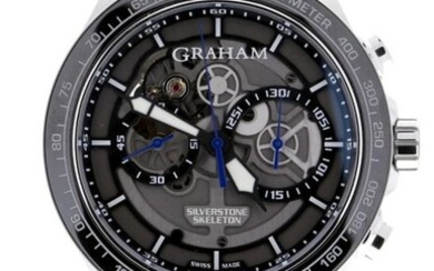 Graham - Silverstone RS Skeleton Blue Limited Edition 250 Pieces - 2STAC3.B01A.K91F - Unisex - 2020