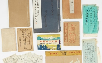 Group of Historical Booklets from China, Japan, Korea