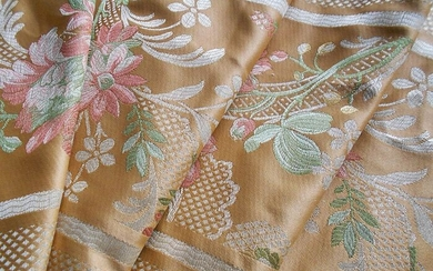 Lampas of great value San Leucio 300 x 140 cm - Textiles - 20th century