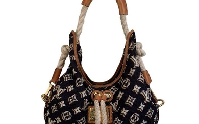 Louis Vuitton - Limited Edition Navy Cruise Bulles MM Hobo Bag Shoulder bag