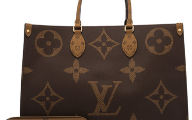 Louis Vuitton Set of Two: Limited Edition Giant Monogram...