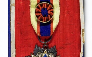 MAJOR GEN. CALEB VANCE HAYNES NATIONALIST CHINESE �ORDER OF THE CLOUD AND BANNER, 6TH CLASS�