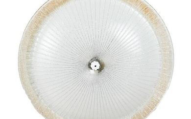 Modern Art Glass Ceiling Fixture