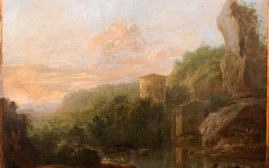 Old Master Italian Landscape Attributed to Marco Ricci