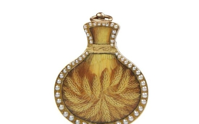 Swiss Gold & Enamel Vinaigrette