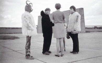 The Beatles: Photographs taken at RAF West Malling during the filming for the Magical Mystery Tour,
