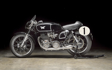 The ex-South African Champion 'Beppe' Castellani, 1955 Matchless 498cc G45 Racing Motorcycle