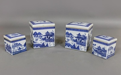 Two pair of Canton Boxes