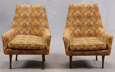 VINTAGE PAUL MCCOBB FOR WIDDICOMB LOUNGE CHAIRS
