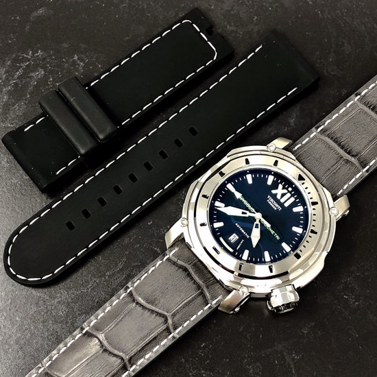 Visconti - Abyssus Full Dive 1000 Inox 2 Straps - KW51-01 - Men - NEW