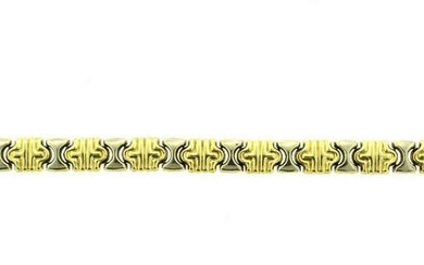 14K YELLOW GOLD & WHITE GOLD MADE IN ITALY STAMPED