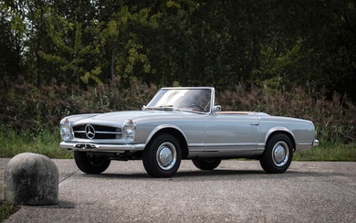 1966 Mercedes-Benz 230 SL 'Pagoda' ZF 5-speed with Hardtop, Chassis no. 113-042-10-017125 Engine no. 127.981-10-013218