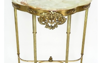 20th C. Neoclassical Style Console Table