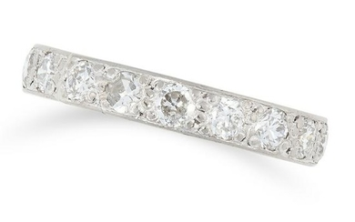 A DIAMOND ETERNITY RING designed as a full eternity set