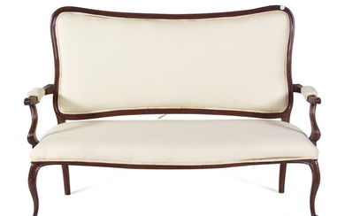 A Louis XV Style Settee