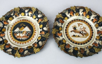 A PAIR OF EARLY 20TH CENTURY EGYPTIAN MIXED METAL