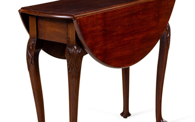 A Queen Anne Mahogany Drop-Leaf Table