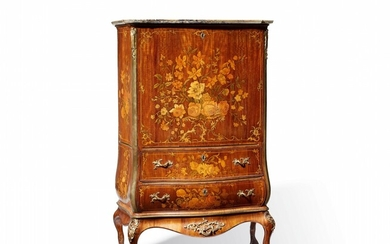A highly important writing desk by Abraham Roentgen