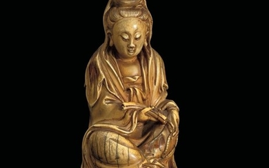 An ivory Guanyin, China, Qing Dynasty