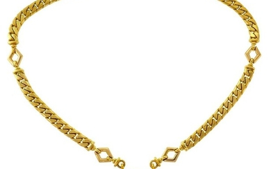 BULGARI Ruby Diamond Yellow Gold NECKLACE Chain Pendant