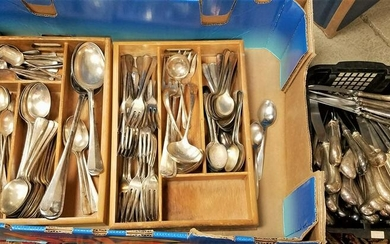BX SILVERPLATE FLATWARE