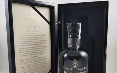 Black Tot 1975 40 years old Speciality Drinks - Rare Old - 70cl