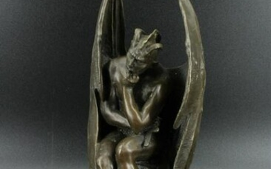 Bronze Lucifer Sculpture