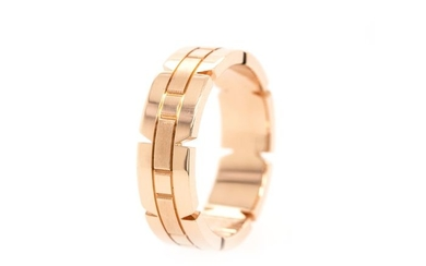 Cartier Tank Francaise- 18 kt. Pink gold - Ring