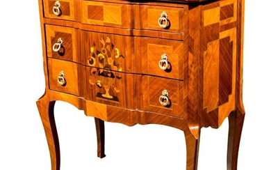 Chest of drawers, Chest of drawers in Transition Style - Transition Style