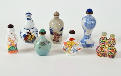 Collection of Seven Chinese Snuff Bottles