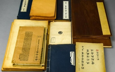 Collection of Vintage Chinese Books