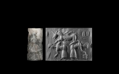 Cylinder Seal with Leaping Horse and Figures