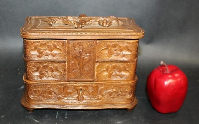 French Black Forest dresser box