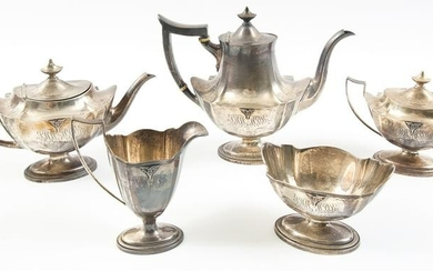 GORHAM STERLING TEA SET US MILITARY ACADEMY - BUIE