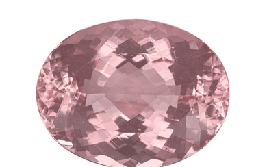 Gemstone: Morganite - 82.94 Cts. Brazil The stone featured...